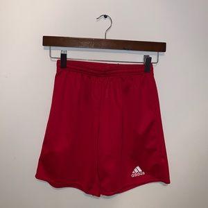 Adidas Aeroready Boys Red Athletic shorts size M